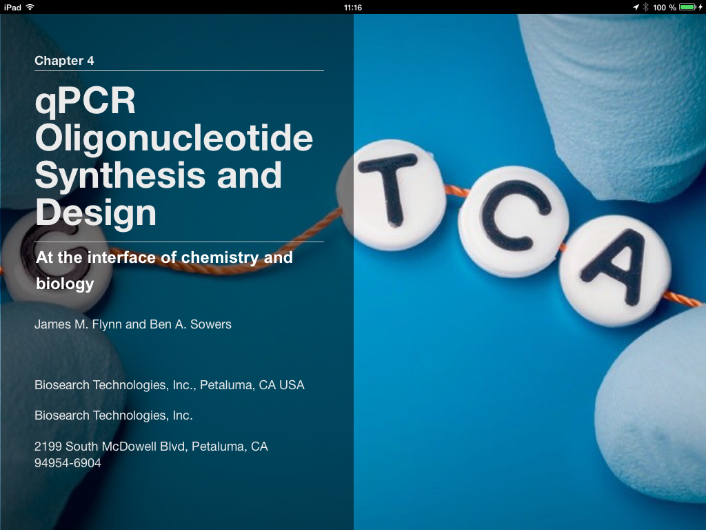 Please Let Us Know, If You Want To Participate With An Own Application Or  Chapter In The Miqe & Qpcr Ibook Contact Us Via Ibook@biomcc