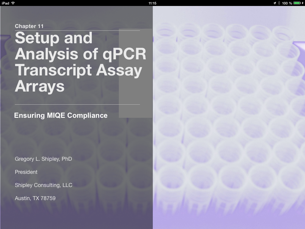 Qpcr books and ebooks please let us know if you want to participate with an own application or chapter in the miqe qpcr ibook contact us via ibookbiomcc fandeluxe Epub